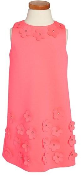 Milly Minis Shift Dress (Toddler Girls, Little Girls & Big Girls)