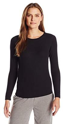 Hanes Women's Plus Size Ultimate Thermal Crew