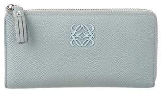 Loewe Leather Zip Around Wallet