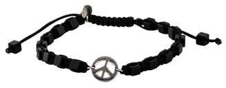 Tateossian Agate Peace Sign Bracelet