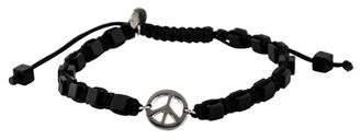 Tateossian Agate Peace Sign Bracelet