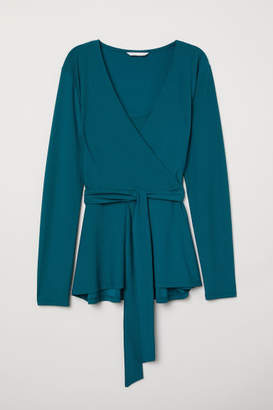 H&M MAMA Nursing Top - Turquoise