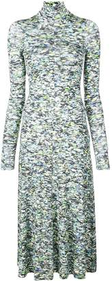 Rosetta Getty printed midi dress