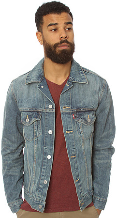 Levi's Levis The Slim Fit Trucker Jacket in Ghost