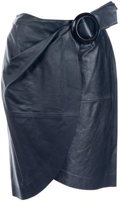 J.W.Anderson Navy Leather Skirts