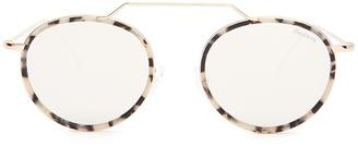 ILLESTEVA Wynwood Ace II mirrored sunglasses $181 thestylecure.com