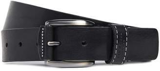 Ted Baker Stitched Detail Leather Belt