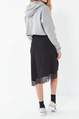 Urban Outfitters Lace Trim Slip Skirt