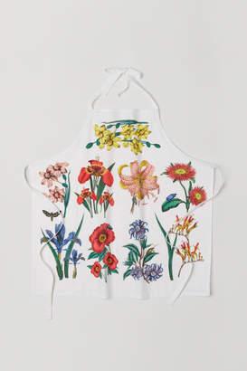 H&M Patterned Apron - White