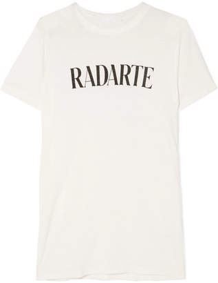 Rodarte Printed Jersey T-shirt - White