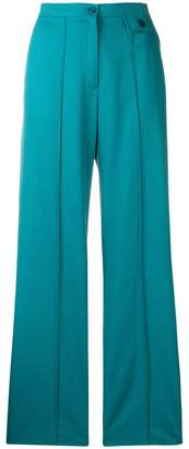 See by Chloe flared tailored trousers