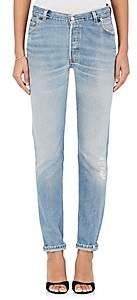 RE/DONE Women's Straight Skinny Levi's® Jeans-Lt. Blue