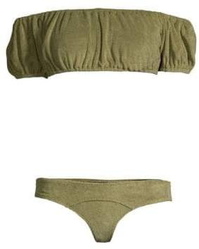 Lisa Marie Fernandez Leandra Terry Two-Piece Bikini