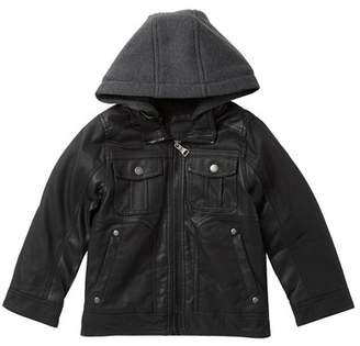Urban Republic Textured Faux Shearling Lined Jacket (Big Boys)