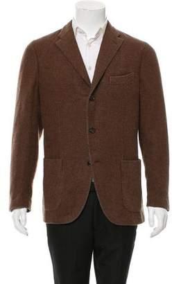 Boglioli Cashmere Three-Button Blazer w/ Tags