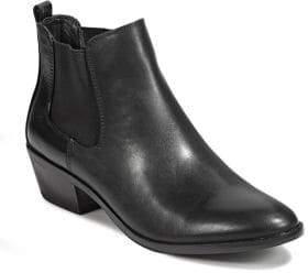 Sam Edelman Pauline Zip Chelsea Leather Booties