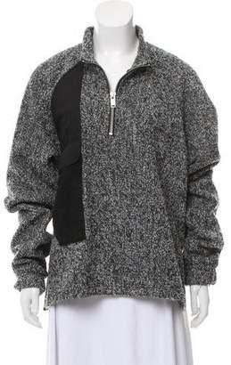 Siki Im Quarter-Zip Bouclé Sweater w/ Tags