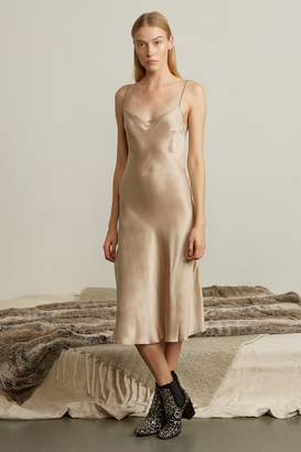 Genuine People Slip on Silk Dress