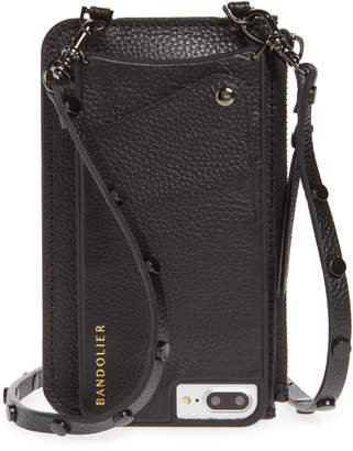 BANDOLIER Jane Leather iPhone 7/8 & 7/8 Plus Crossbody Case