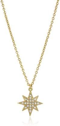 Chloé + Theodora Star Burst Pendant Necklace