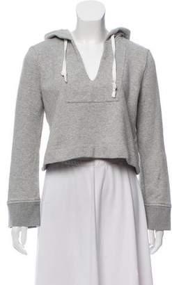 A.L.C. Cropped Hooded Sweatshirt