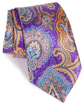 Men's Ermenegildo Zegna 'Quindici' Paisley Silk Tie $285 thestylecure.com