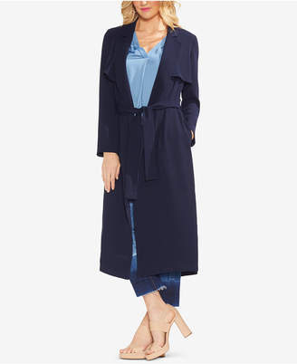Vince Camuto Micro-Texture Trenchcoat