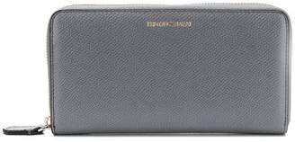 Emporio Armani zip-around logo wallet