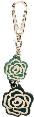 MICHAEL Michael Kors flower charm keychain