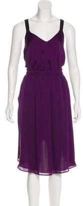 Theyskens' Theory Silk Midi Dress w/ Tags