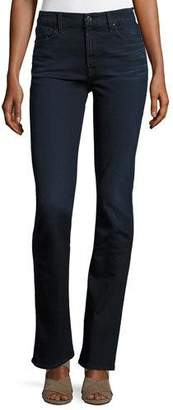 7 For All Mankind Jen7 by Riche Touch Slim Straight Jeans, Dark Blue