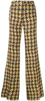 Rochas 'sixties' printed trousers