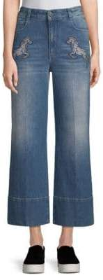 Stella McCartney Frayed Cuff Jeans
