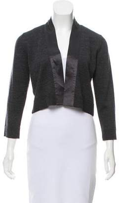 Calvin Klein Cropped Wool-Blend Cardigan