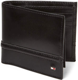 80f4ad38f2 Tommy Hilfiger Brevin RFID Leather Passcase Wallet