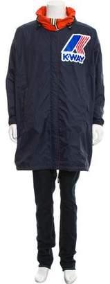 DSQUARED2 x K-Way Lightweight Zip-Up Jacket