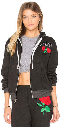 Wildfox Couture Wild Rose Hoodie in Black $146 thestylecure.com