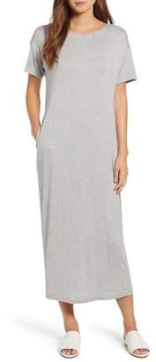 Bobeau Cinched Back Maxi Dress (Regular & Petite)
