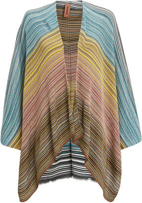 Missoni Usa Metallic Stripe Cape