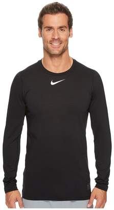Nike Pro Warm Crew Top Men's Long Sleeve Pullover