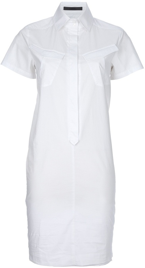 Karl Lagerfeld shirt dress