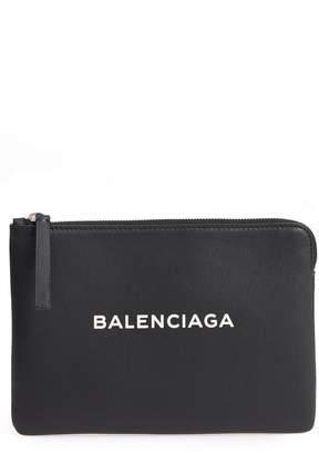 Balenciaga Medium Everyday Leather Pouch