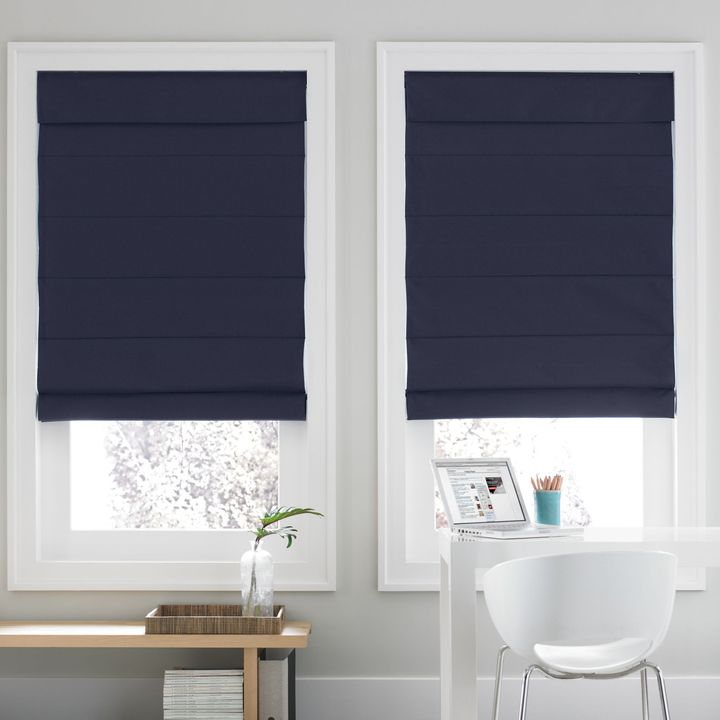 Real Simple® Roman Shade