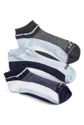 Zella Fitness Liner Socks - Pack of 3