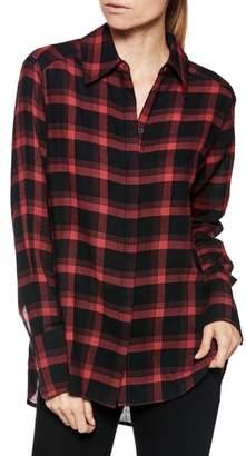 Paige Clemence Plaid Shirt