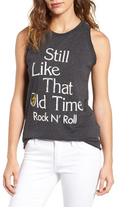 Women's Junk Food Old Time Rock 'N' Roll Tank $42 thestylecure.com