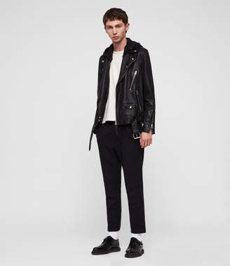 AllSaints Renzo Leather Biker Jacket