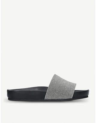 Kurt Geiger London Missy embellished sliders