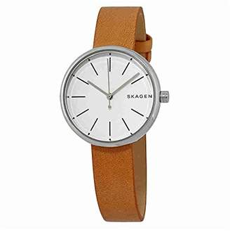 Skagen Women's SKW2594 Signatur Leather Watch