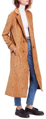 Free People Out All Night Long Jacquard Jacket